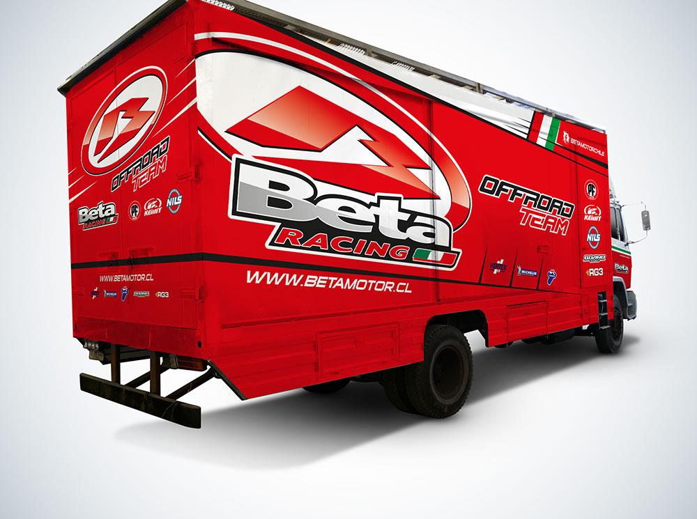 Camion-Beta-Racing-Back