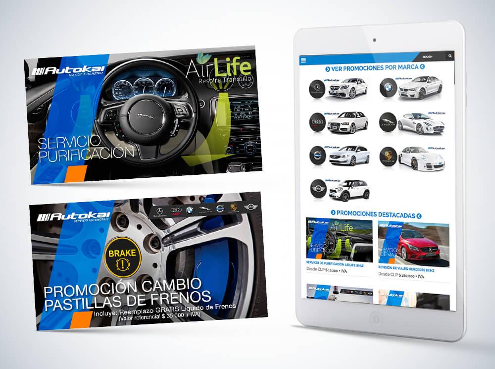 Promociones Web Autokai