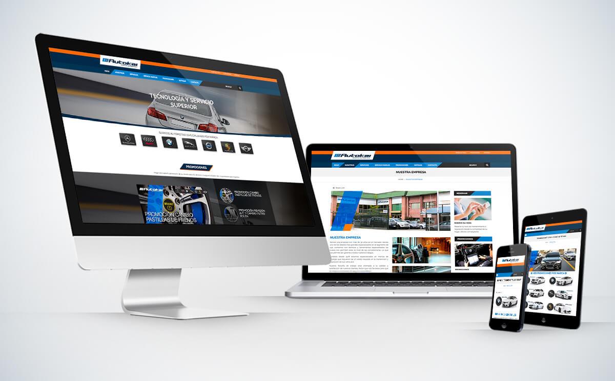 Diseño Web Autokai